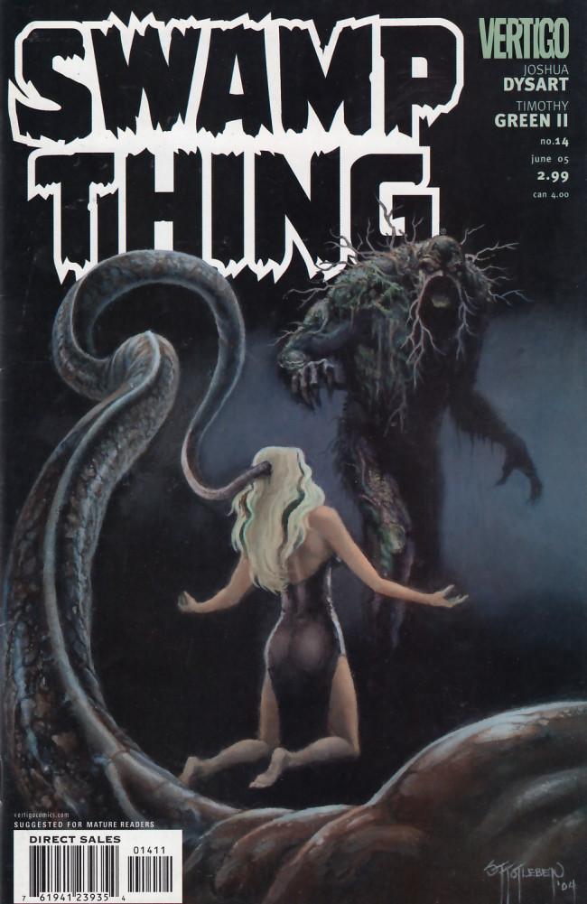 Couverture de Swamp Thing Vol.4 (DC comics - 2004) -14- (sans titre)