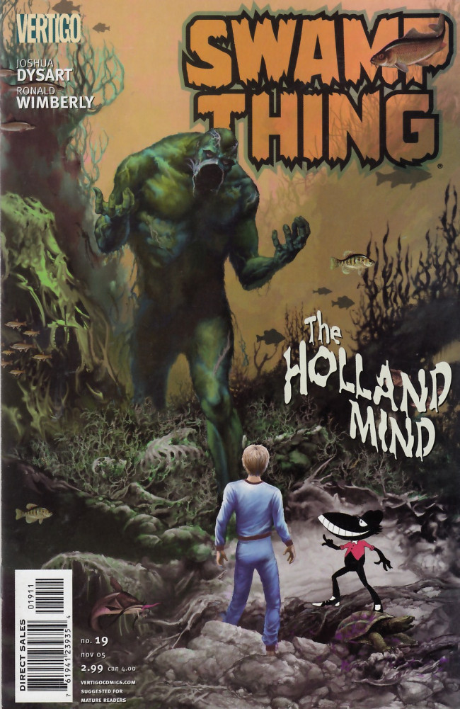 Couverture de Swamp Thing Vol.4 (DC comics - 2004) -19- The Holland Mind