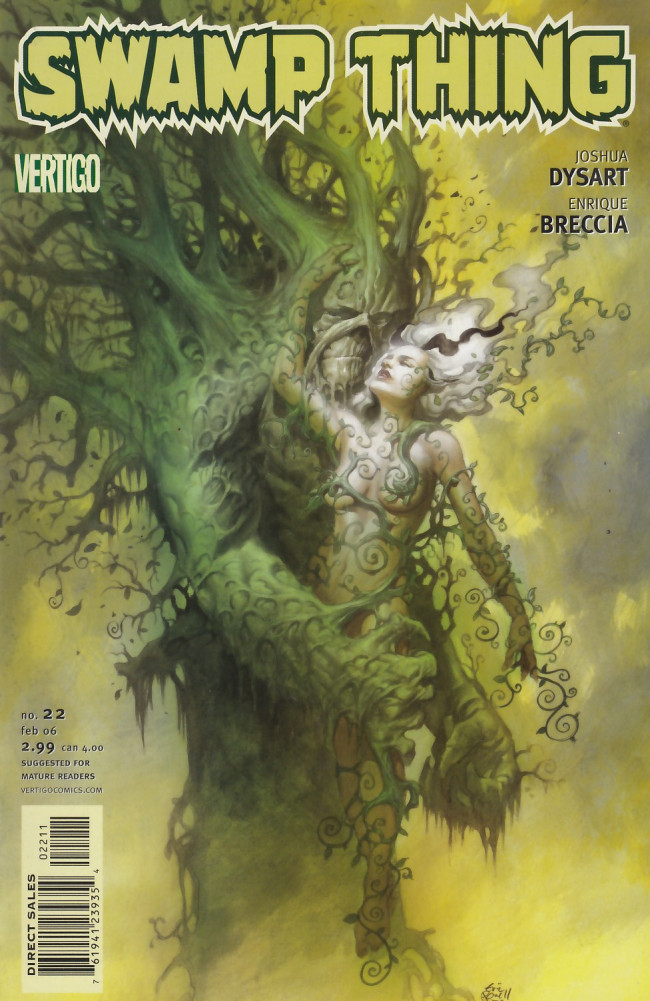 Couverture de Swamp Thing Vol.4 (DC comics - 2004) -22- (sans titre)