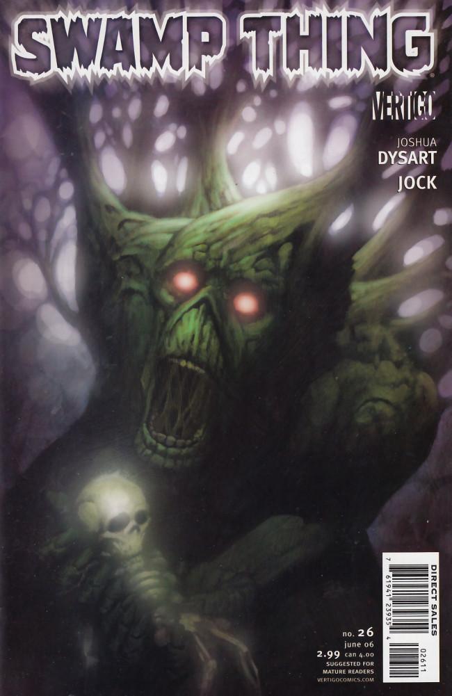 Couverture de Swamp Thing Vol.4 (DC comics - 2004) -26- (sans titre)