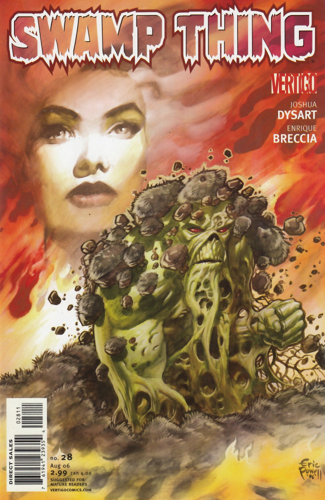 Couverture de Swamp Thing (2004) -28- The Prison Tree, Chapter II