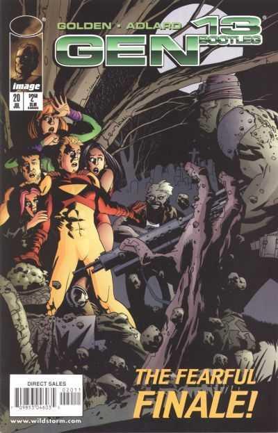 Couverture de Gen13 Bootleg (1996) -20- Issue 20
