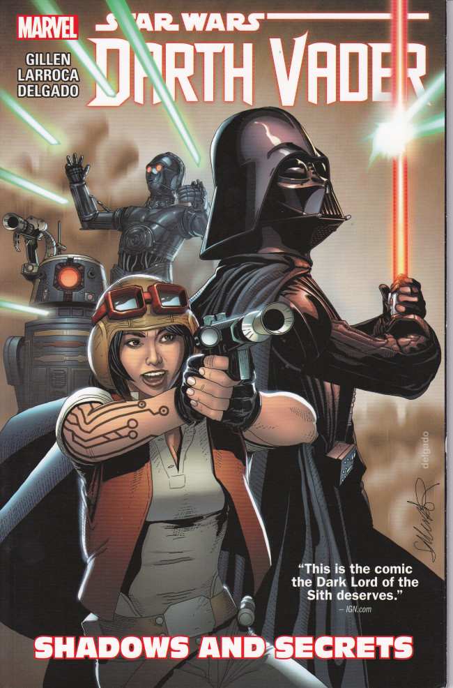 Couverture de Darth Vader (2015) -INT02- Shadows And Secrets
