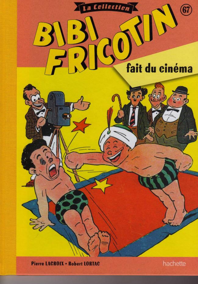 Couverture de Bibi Fricotin (Hachette - la collection) -67- Bibi Fricotin fait du cinéma