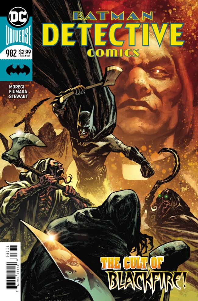 Couverture de Detective Comics (1937) -982- The Cursing of Gotham City !