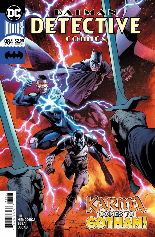 Couverture de Detective Comics (1937) -984- On the outside - Part 2