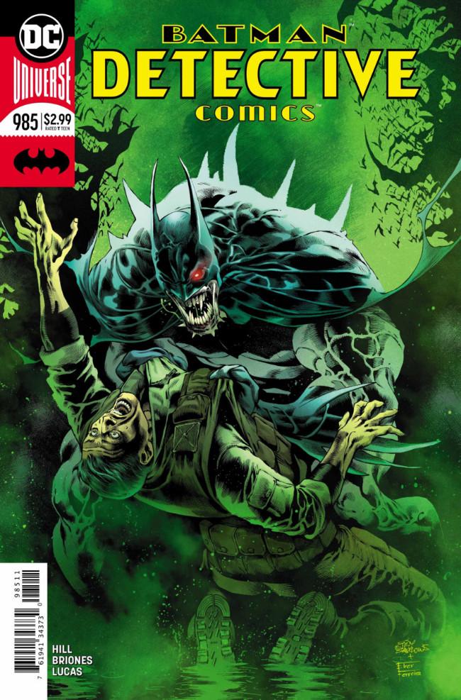 Couverture de Detective Comics (1937) -985- On the outside - Part 3