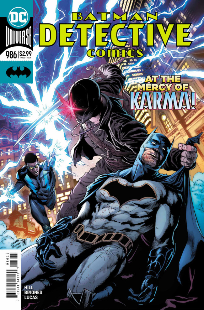 Couverture de Detective Comics (1937), Période Rebirth (2016) -986- On the outside - Part 4