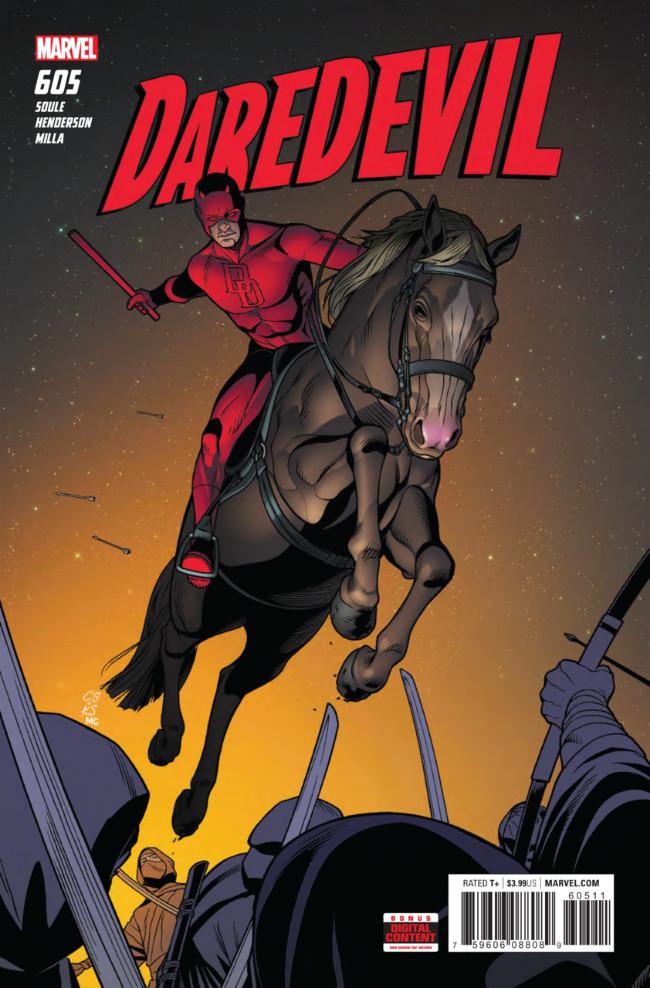 Couverture de Daredevil Vol. 1 (Marvel - 1964) -605- Untitled