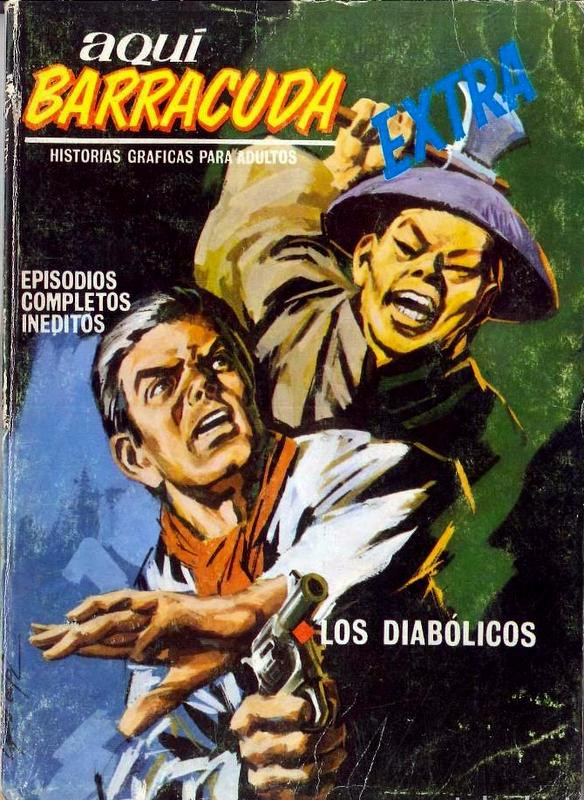 Couverture de Aquí Barracuda -11- Los diabólicos