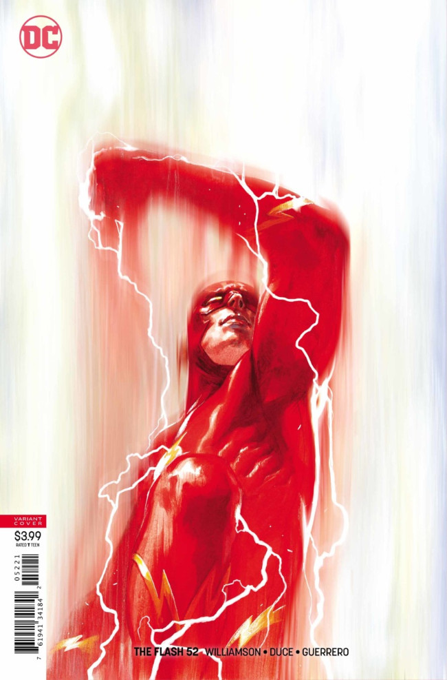 Couverture de Flash (The) (2016) -52- Grips of Strength 1