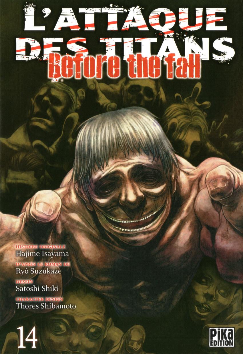 Couverture de L'attaque des Titans - Before The Fall -14- Tome 14