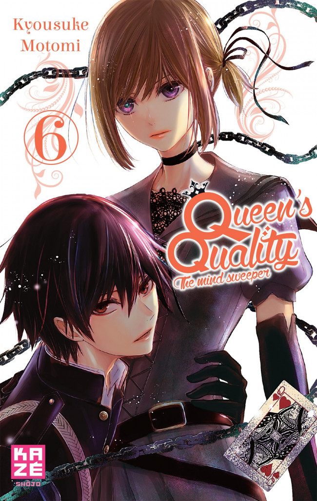 Couverture de Queen's quality, the mind sweeper -6- Tome 6