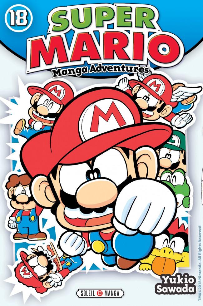 Couverture de Super Mario - Manga Adventures -18- Tome 18