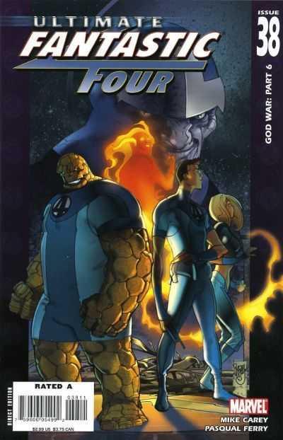 Couverture de Ultimate Fantastic Four (2004) -38- God War: Part 6