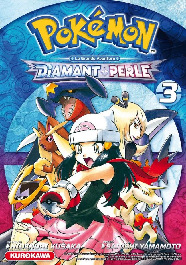 Couverture de Pokémon Diamant & Perle/Platine -3- Tome 3