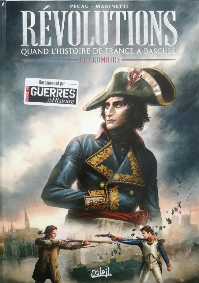 Couverture de Révolutions (Quand l'Histoire de France a basculé) -1- 18 Brumaire