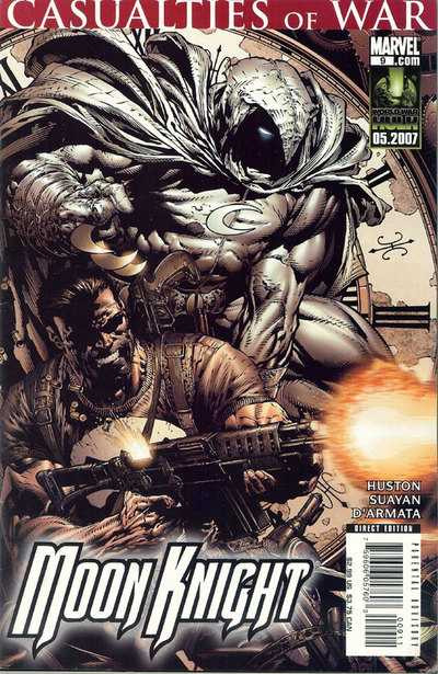 Couverture de Moon Knight (2006) -9- Midnight Sun, Chapter 3: For The Occasion