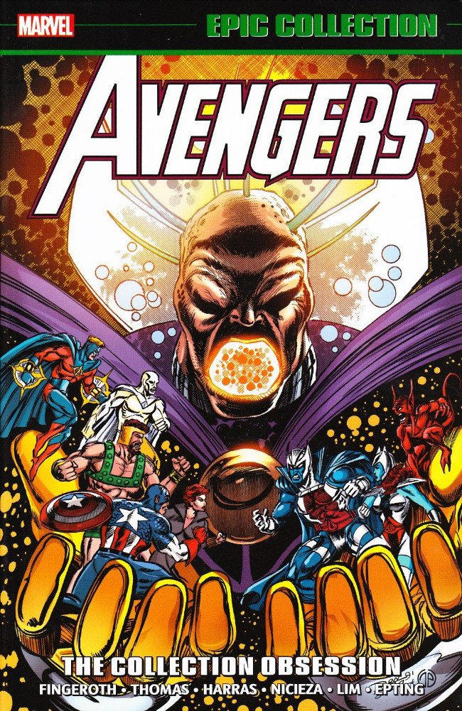 Couverture de Avengers Epic Collection (The) (2013) -INT21- The Collection Obsession