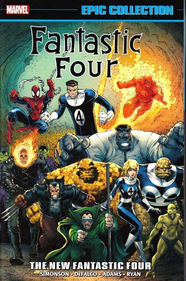 Couverture de Fantastic Four Epic Collection (2014) -INT21- The New Fantastic Four