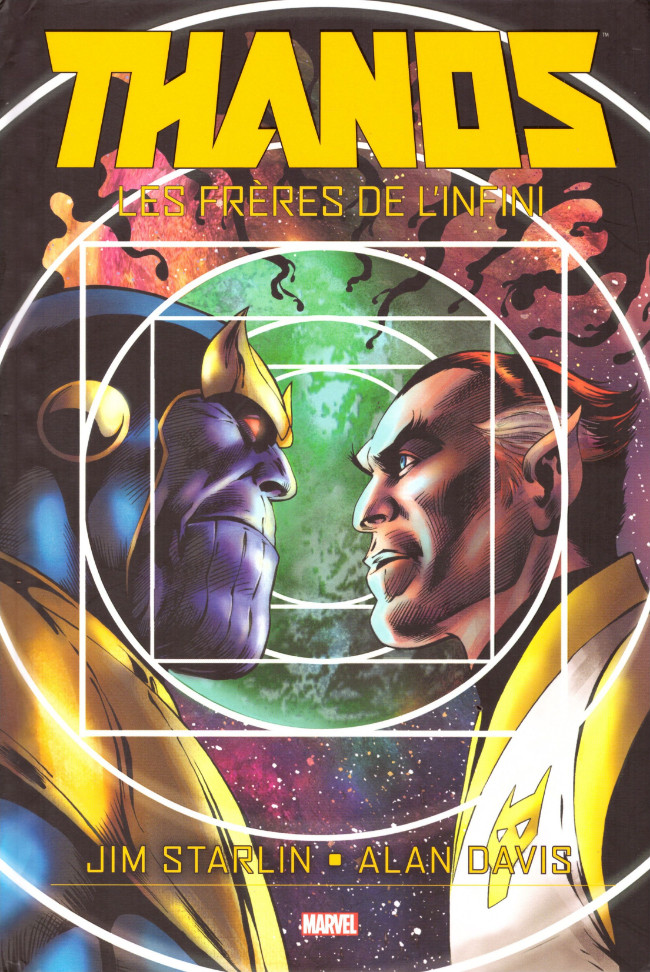 Couverture de Thanos : les frères de l'infini