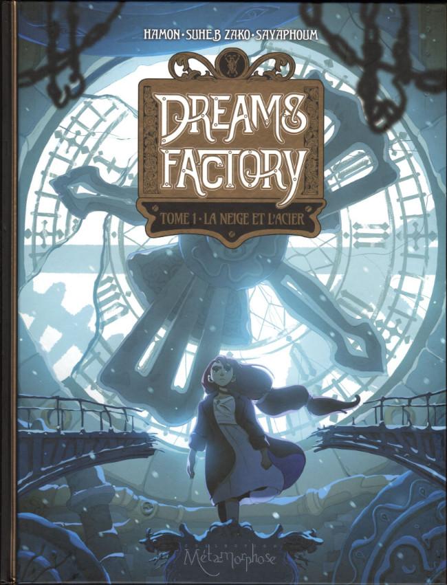 Couverture de Dreams Factory -1- La neige et l'acier