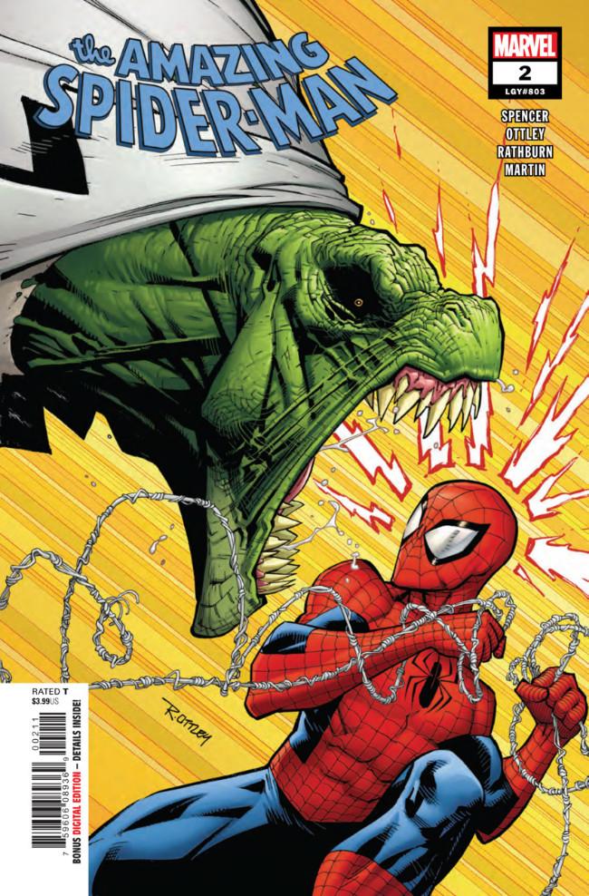 Couverture de Amazing Spider-Man (The) (2018) -2- Back To Basis Part 2