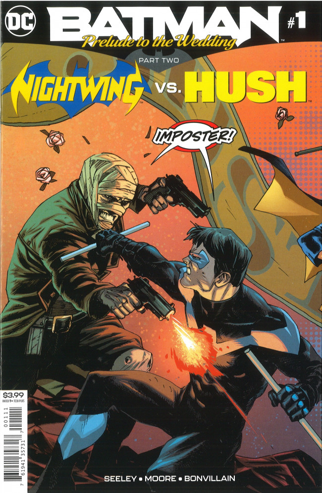 Couverture de Batman: Prelude to the Wedding -2- Part Two: Nightwing vs. Hush