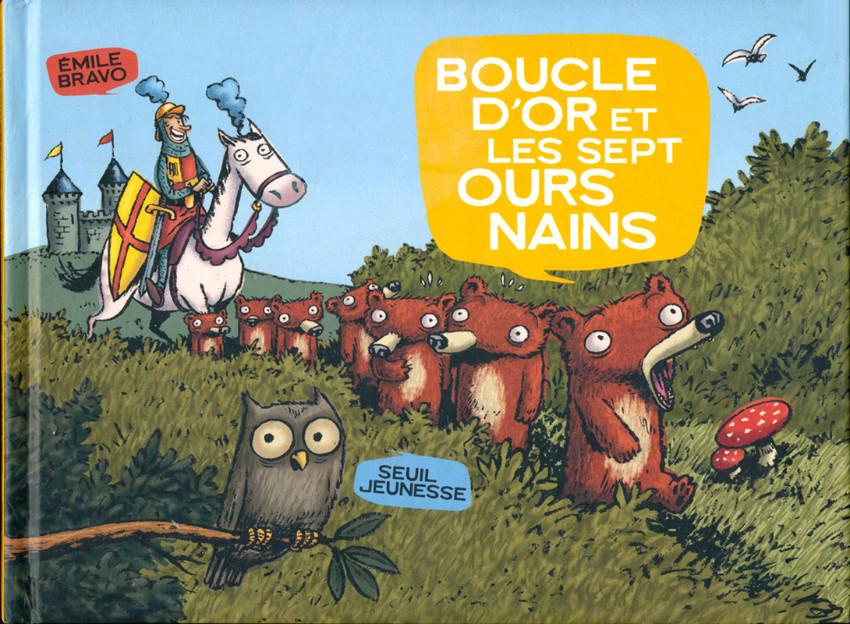 Couverture de Les sept ours nains -1- Boucle d'Or et les sept ours nains