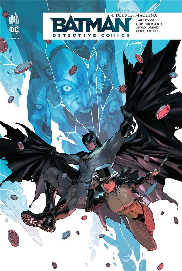 Couverture de Batman : Detective Comics -4- Deux Ex Machina