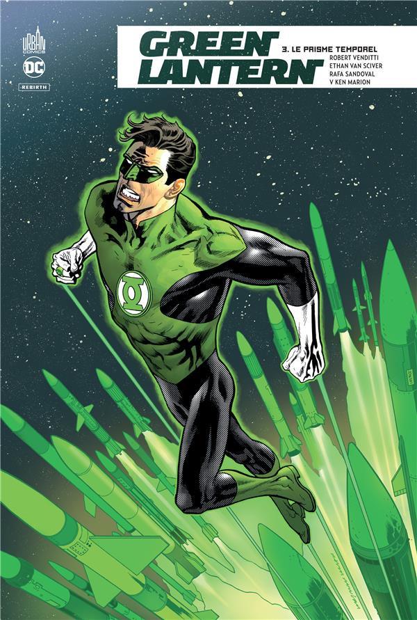 Couverture de Green Lantern Rebirth -3- Le Prisme temporel