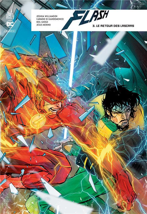 Couverture de Flash Rebirth -3- Le Retour des Lascars