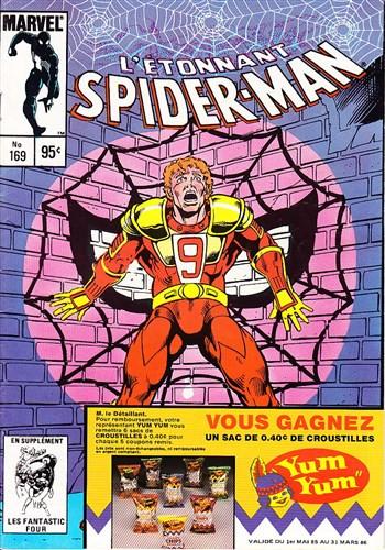 Couverture de L'Étonnant Spider-Man (Éditions Héritage) -169- Red 9