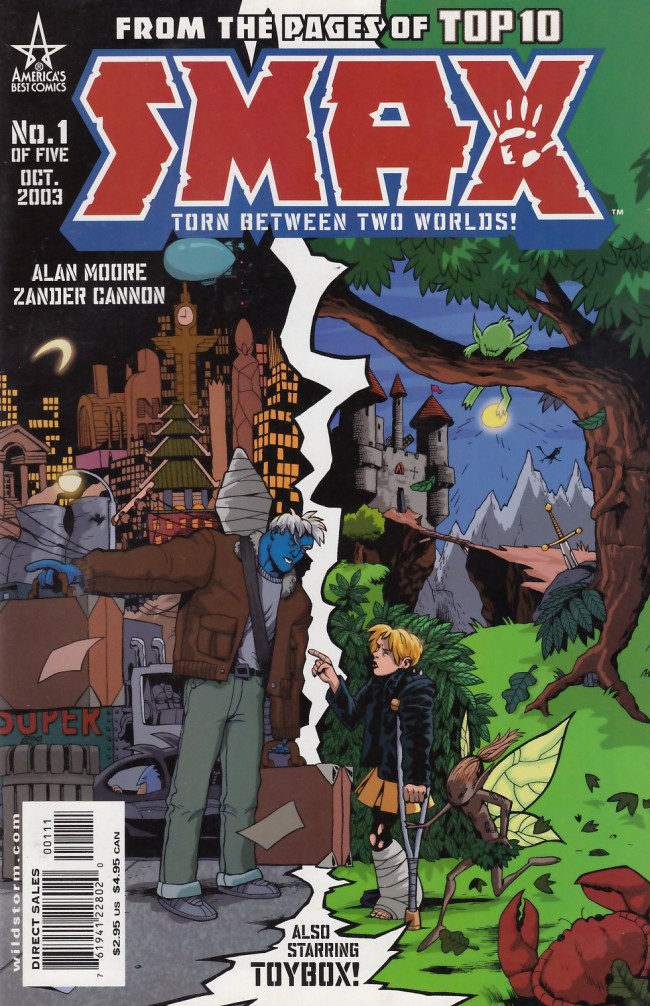 Couverture de Smax (2003) -1- Isn't it Good to be Lost in the Wood...
