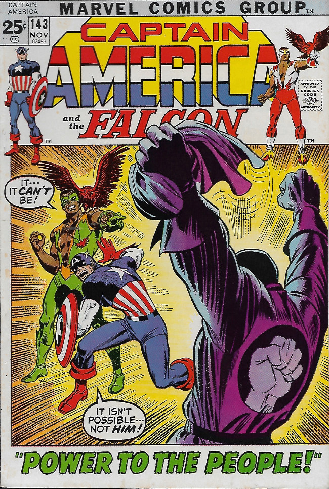 Couverture de Captain America (Marvel comics - 1968) -143- Power To The People
