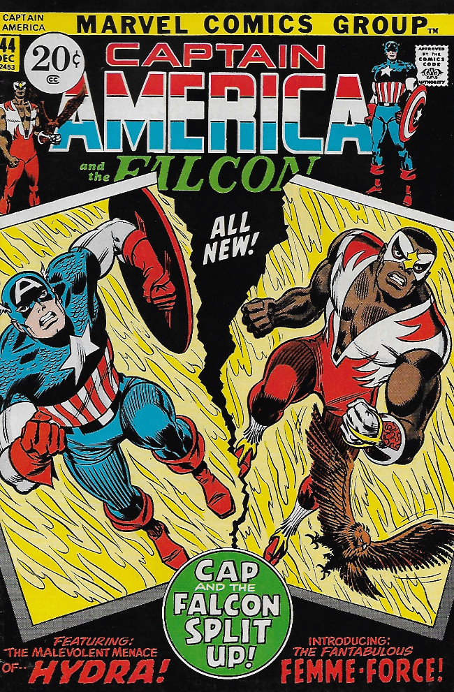 Couverture de Captain America (Marvel comics - 1968) -144- Hydra Over All