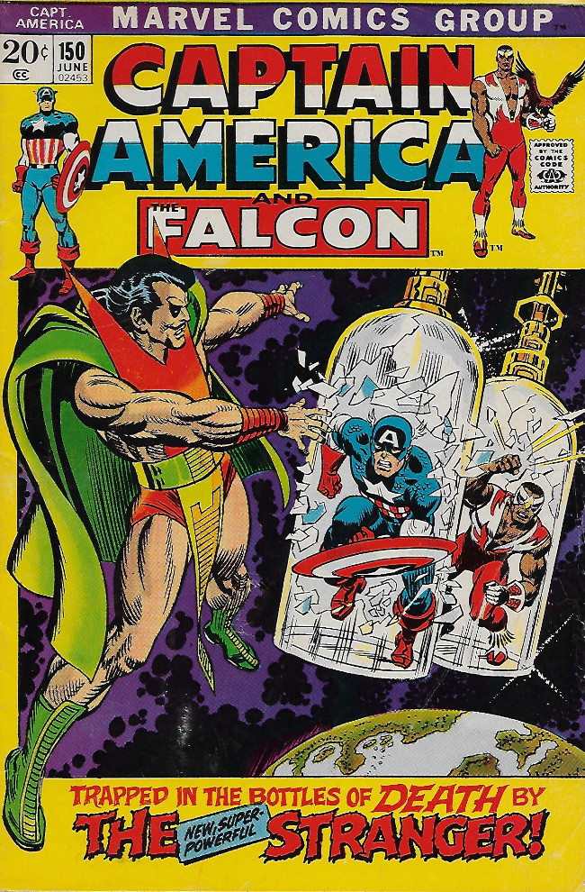 Couverture de Captain America (1968) -150- Mirror, Mirror...!