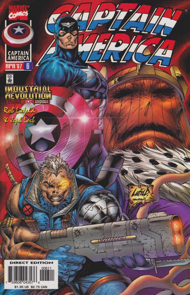 Couverture de Captain America (1996) -6- Soldiers