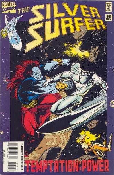 Couverture de Silver Surfer Vol.3 (Marvel comics - 1987) -98- Temptation: Power