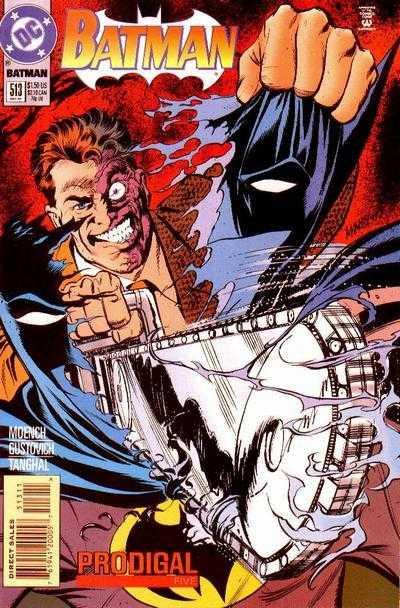 Couverture de Batman (1940) -513- Prodigal 5: Double Deuce