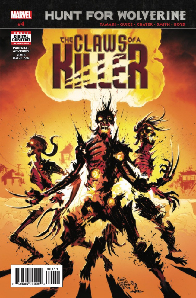 Couverture de Hunt For Wolverine - The Claws of a Killer -4- Issue #4