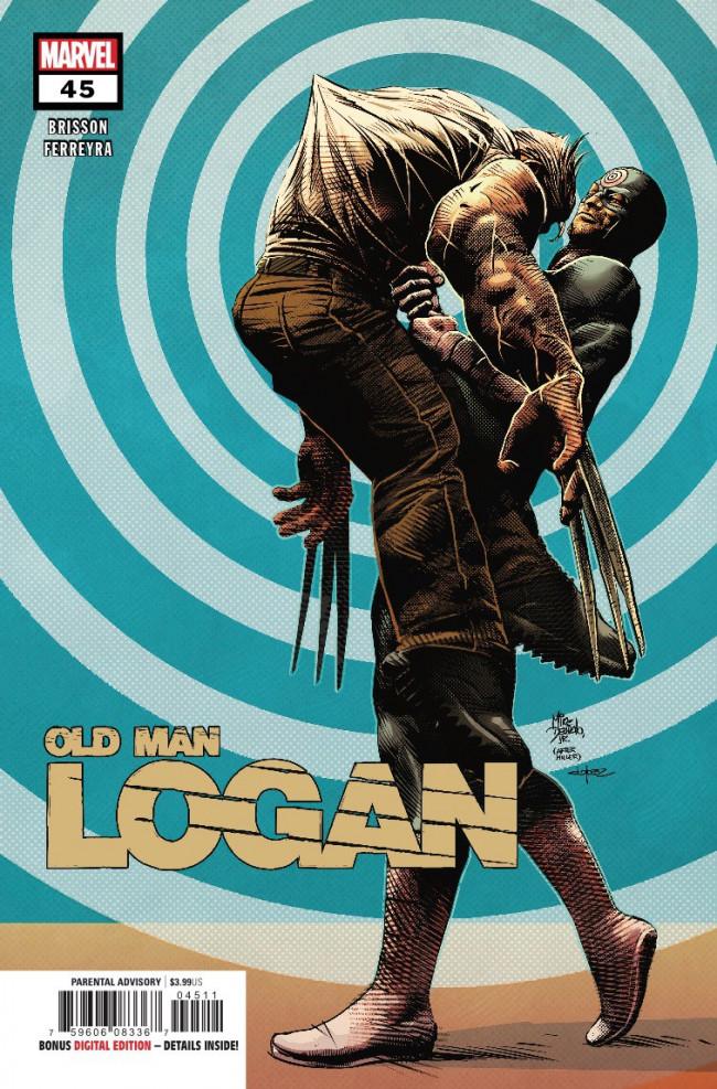 Couverture de Old Man Logan (2016) -45- Bullseye Returns: Conclusion