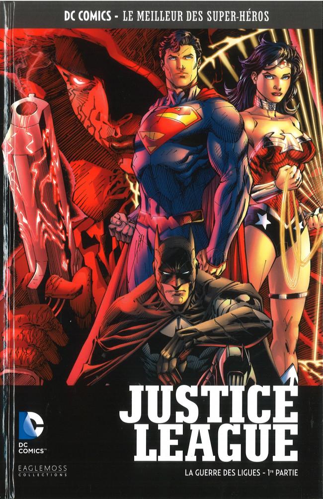 Couverture de DC Comics - Le Meilleur des Super-Héros -78- Justice League - La Guerre des Ligues - 1re partie