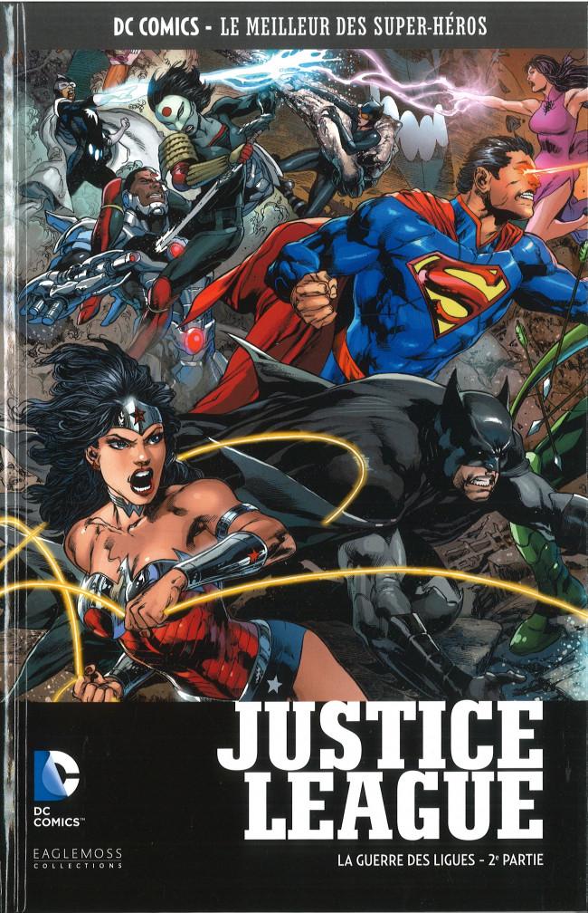 Couverture de DC Comics - Le Meilleur des Super-Héros -79- Justice League - La Guerre des Ligues - 2e partie