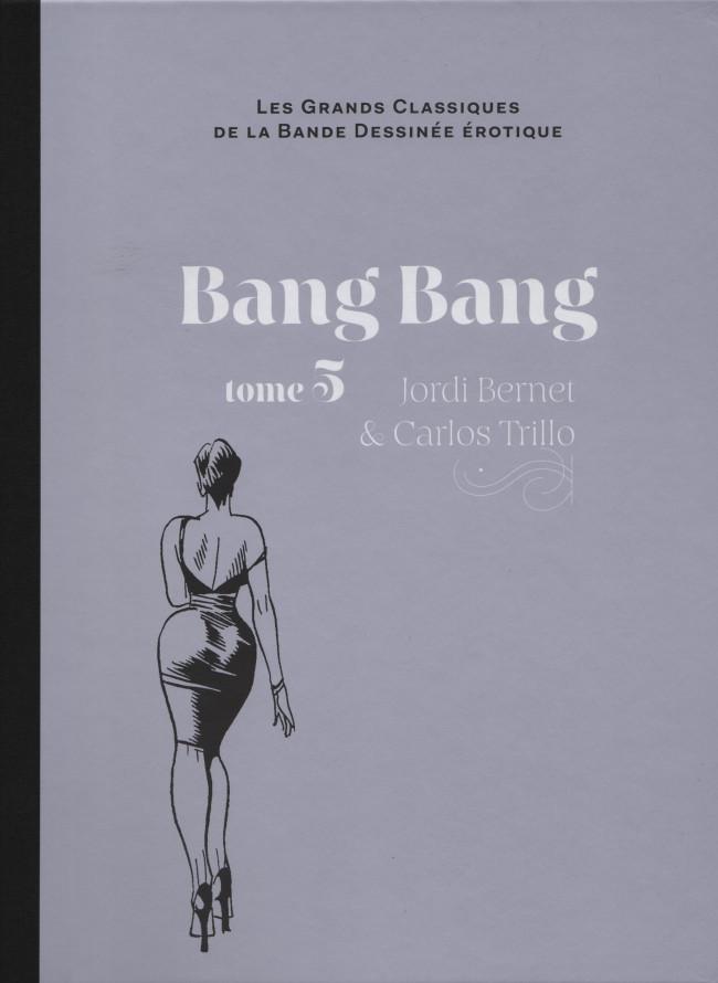 Couverture de Les grands Classiques de la Bande Dessinée érotique - La Collection -6229- Bang Bang - tome 5