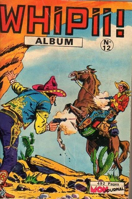 Couverture de Whipii ! (Panter Black, Whipee ! puis) -Rec12- Album N°12 (du n°32 au n°34)