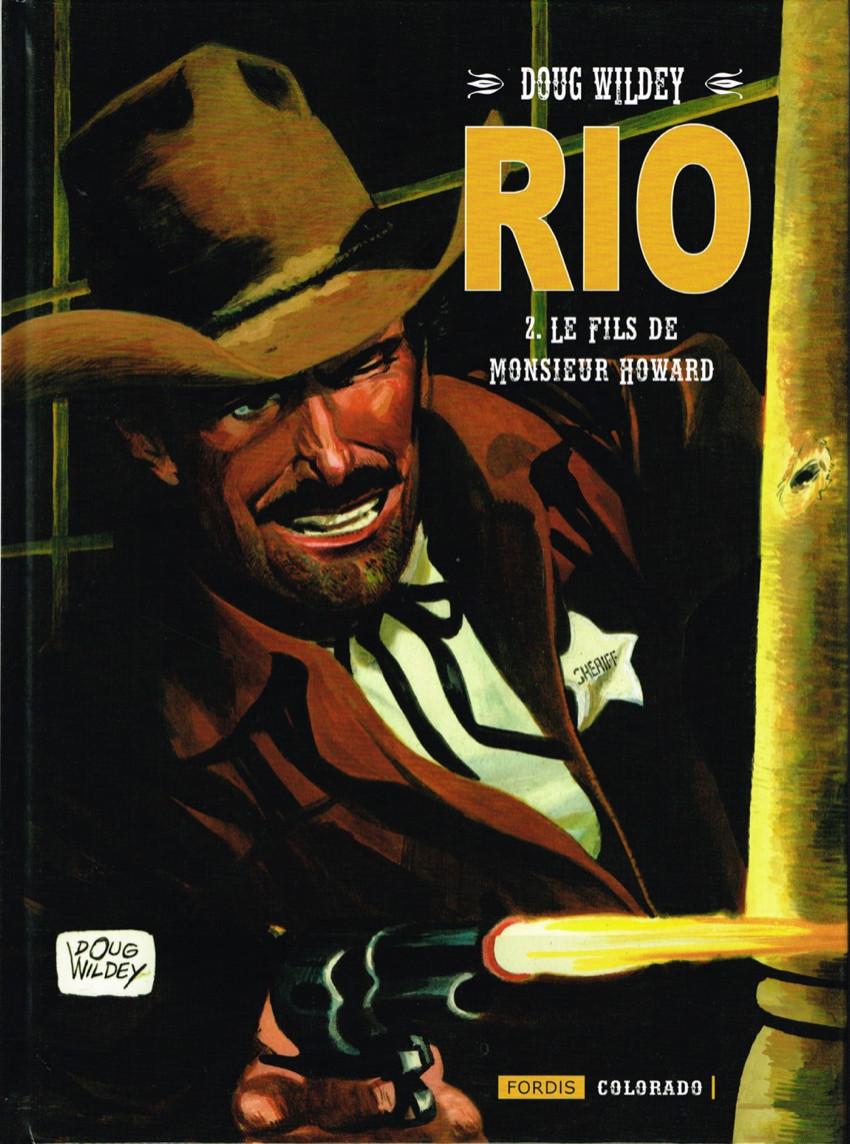 Couverture de Rio (Wildey) -2- Le Fils de Monsieur Howard