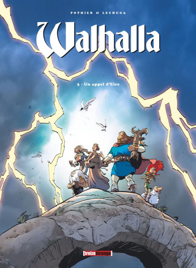 Couverture de Walhalla -3- Un appel d'Eire