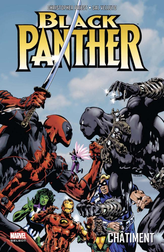Couverture de Black Panther (Marvel select) -2- Châtiment