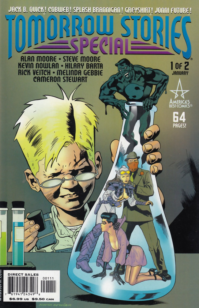 Couverture de Tomorrow Stories (1999) -SP01- Tomorrow Stories Special 1 of 2